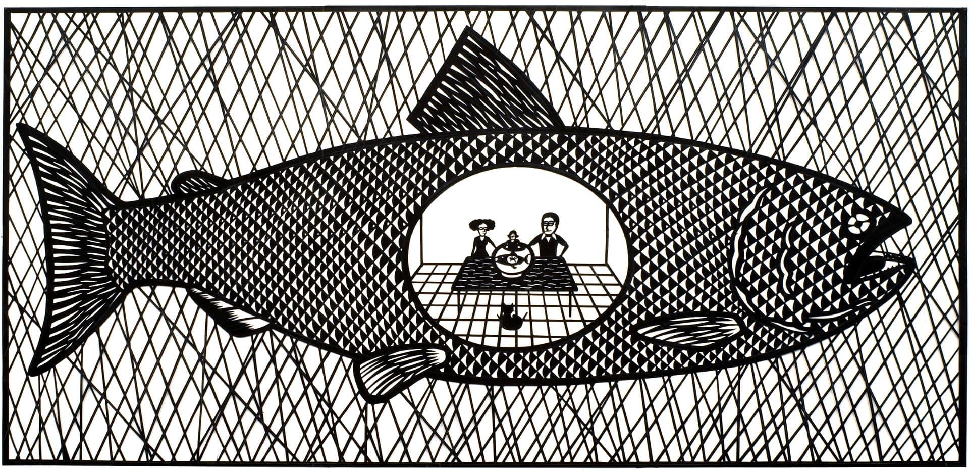 Il-pesciolinino-d-oro-artoncino-ritagliato